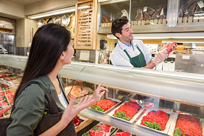Butchers can help you find what you need!